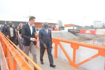 Visite de M. Sean CAIRNCROSS au Port Autonome d'Abidjan
