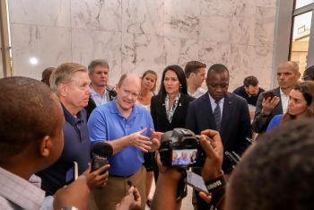 Visite des Sénateurs