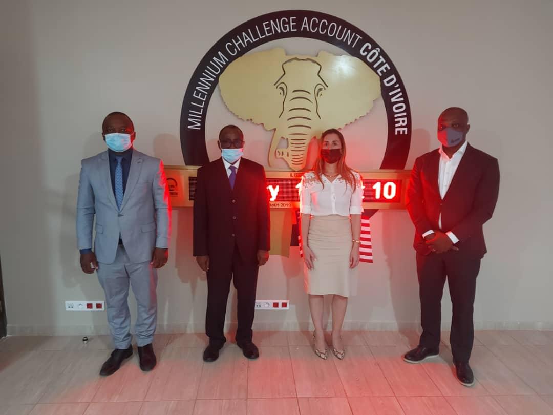 Visite de travail du Ministre de l'Enseignement Technique, de la Formation Professionnelle et de l'Apprentissage