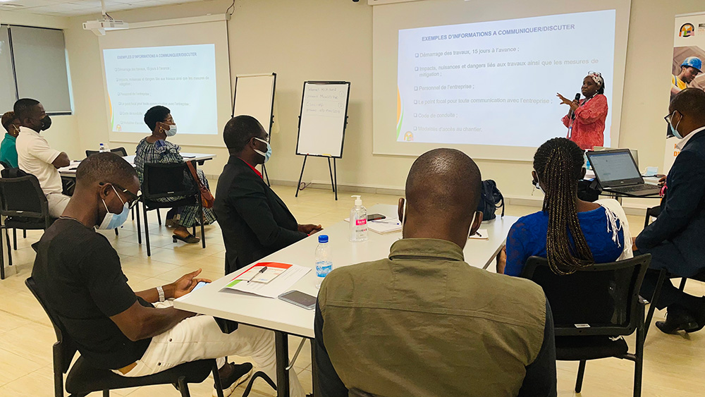 Atelier de formation de renforcement des capacités des entreprises présélectionnées dans le cadre de la construction des Collèges de Proximité et des antennes ENS dans les régions de Gbêkê et de San-Pedro